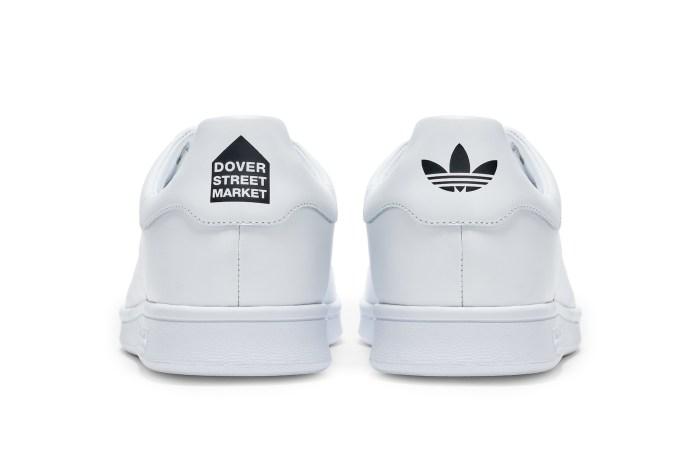 高質感的極簡風格:Dover Street Market 聯手 adidas Originals 推出黑白純色聯名!