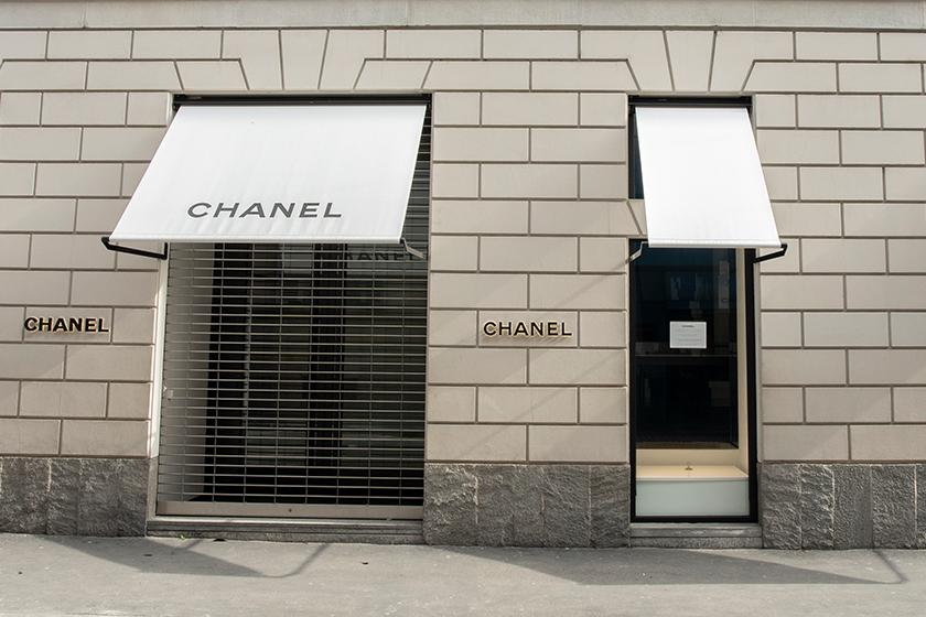 luxury chanel online shop Covid-19
