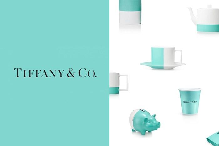 從 Tiffany & Co.的居家配件中,為生活美學滴入一劑夢幻清新!