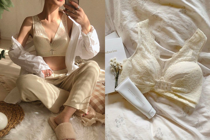 Lulu Kushel night underwear Japan