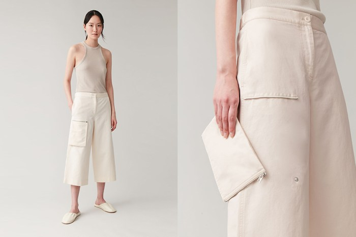 一件單品兩種穿法:COS 將簡約加上機能性,口袋拆下來可以變為手袋!