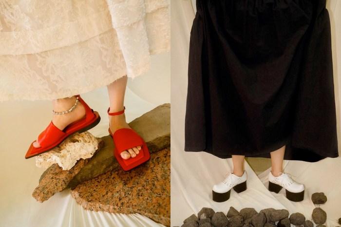極簡中藏巧思:首爾小眾品牌 Flat Apartment,日常也不違和的設計鞋履!