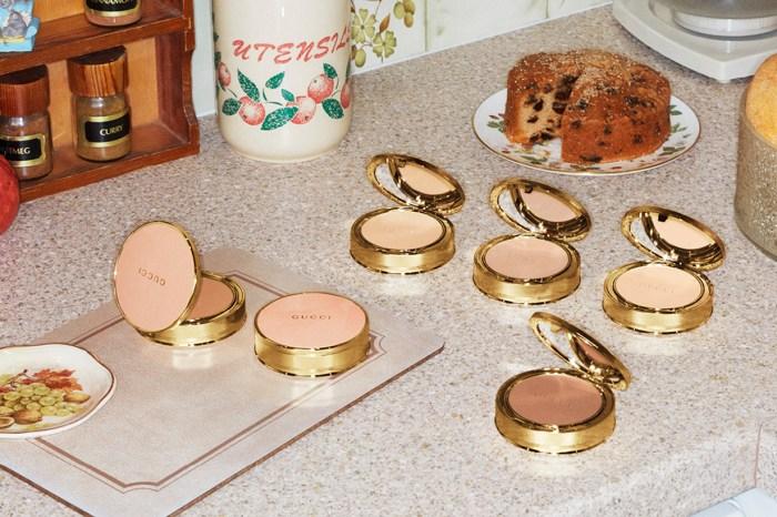 Gucci Beauty 推出全新啞緻粉餅!夢幻的粉紅色盒子讓人心動不已