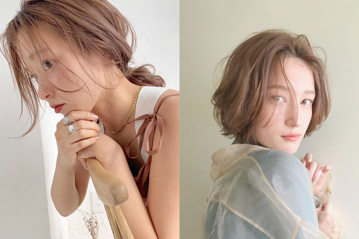 japan girl hairstyle dye color trend summer 2020