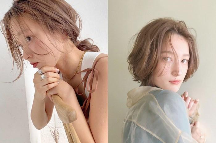 日本女生的夏日髮色靈感:試試低飽和的淺咖啡色,陽光打下來更美!