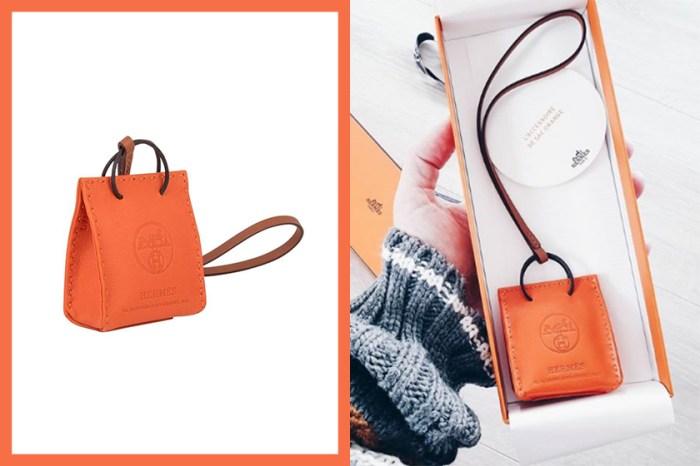 最容易入手的 Hermès 手袋,就是這個極具標誌性的橙色迷你手袋!