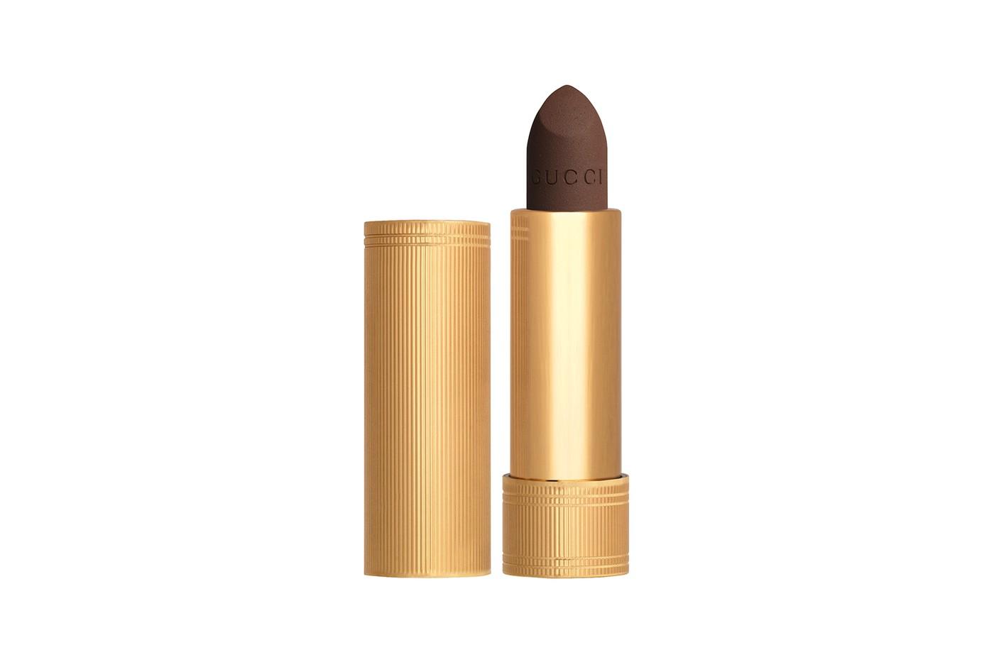 gucci beauty matte lipstick collection rouge a levres mat shades purple orange brown release