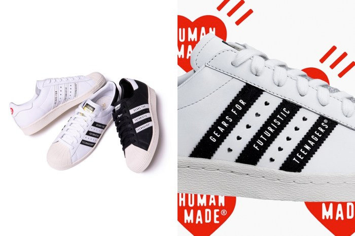 充滿愛心的 Superstar!HUMAN MADE x adidas Originals 波鞋聯乘登場