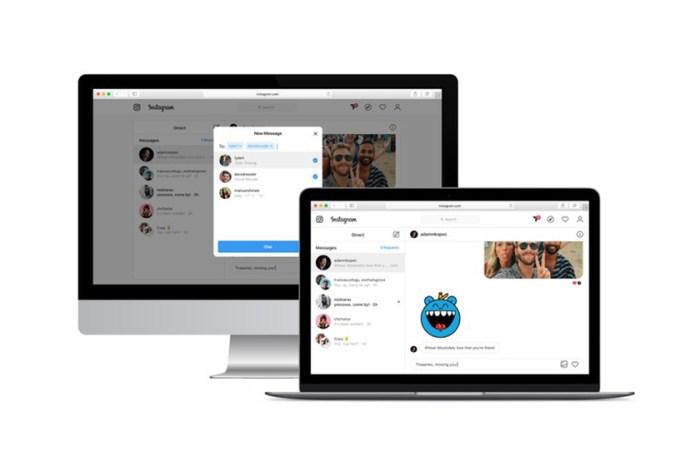 替用戶節省不少時間!Instagram  網頁版終於把私訊功能開通了!