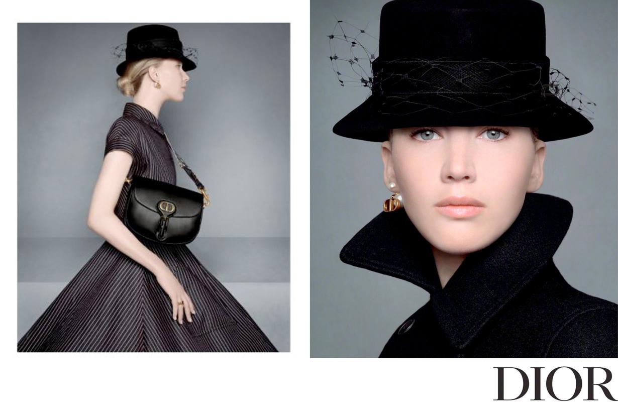 dior jennifer lawrence pre fall campaign new handbags