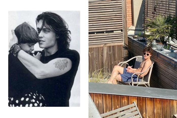 Johnny Depp 兒子 18 歲了,這顏值+身材完全讓人想到爸爸年輕時的模樣!