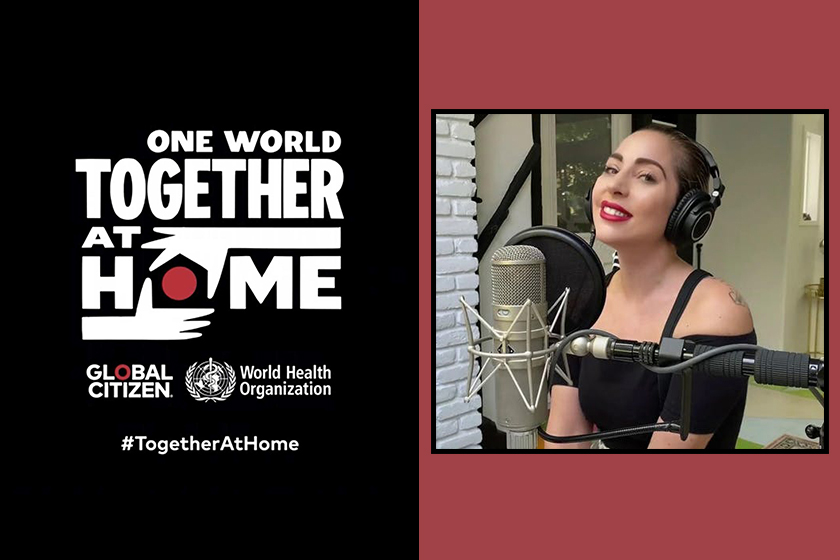 lady gaga one world together at home concert billie eilish sam smith eason chan recap