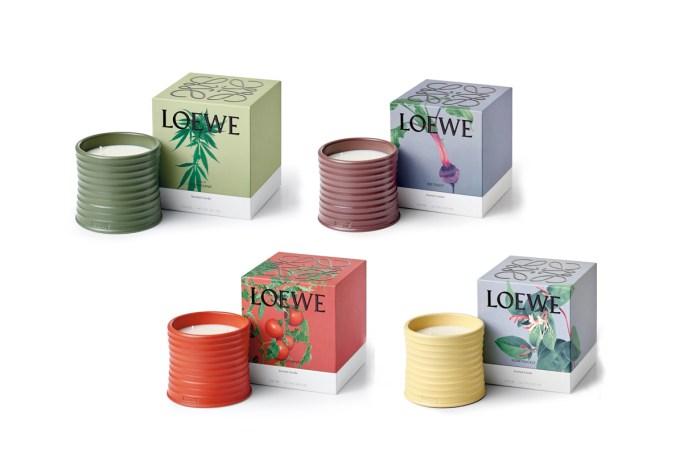 Loewe 首個香氛蠟燭系列在 IG 公開,沒想到竟然是大麻氣味!