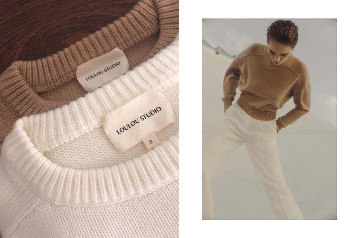 Loulou Studio's Loungewear