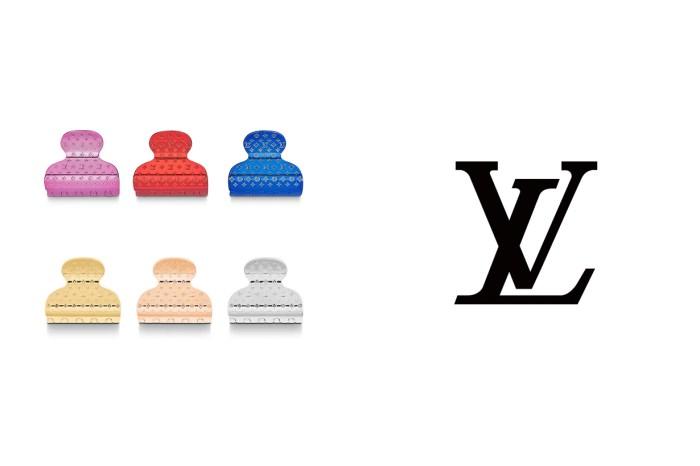 奢華的居家髮飾:Louis Vuitton 推出 Monogram 圖騰鯊魚夾,你願意買單嗎?