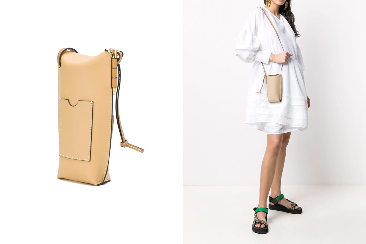 loewe structured mini bag 2020 ss new