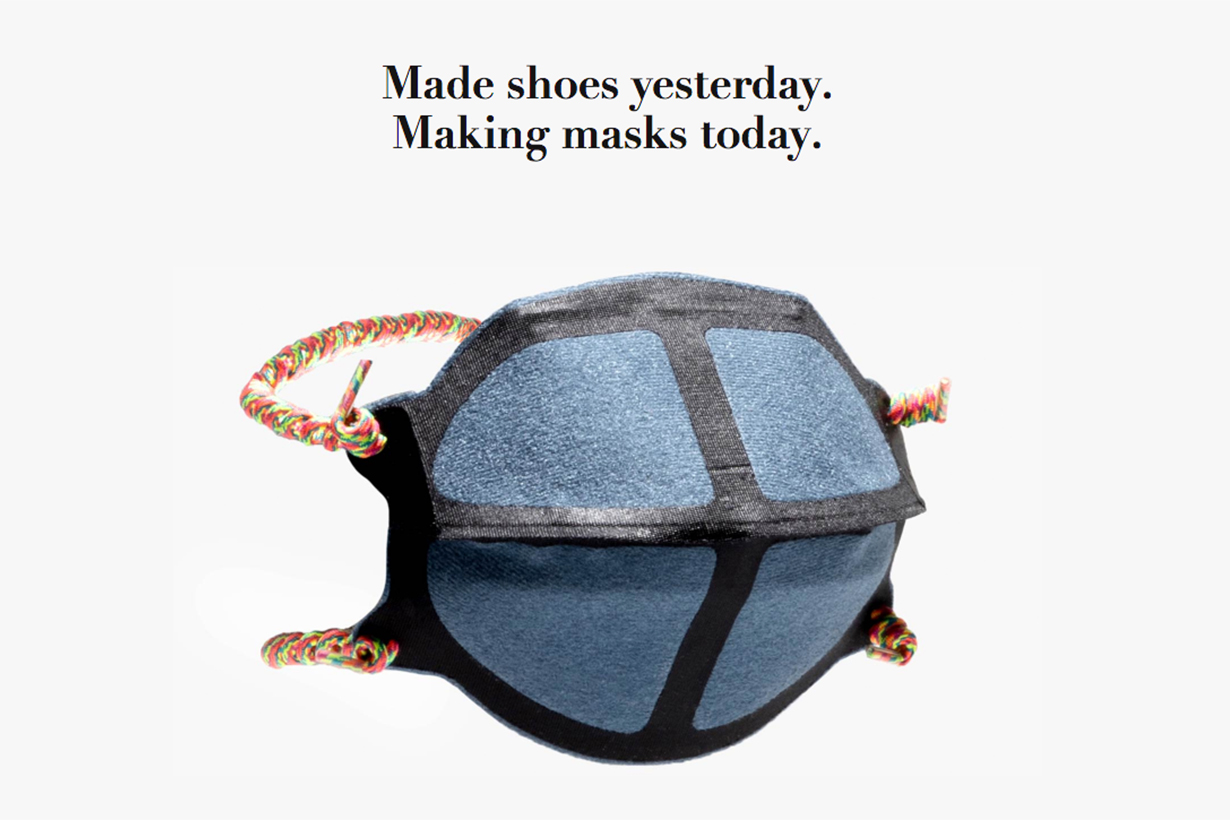 NEW BALANCE TO SCALE ITS PRODUCTION OF MASKS AMIDST CORONAVIRUS PANDEMIC