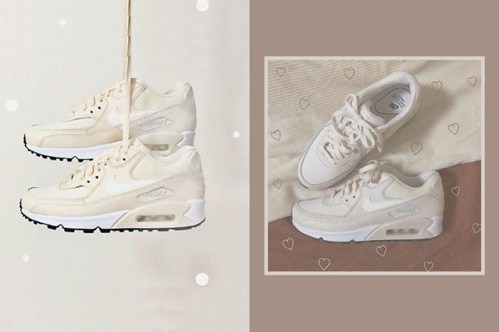 比小白鞋更有質感:日本女生瘋搶的,就是這款奶油色系 Nike Air Max!