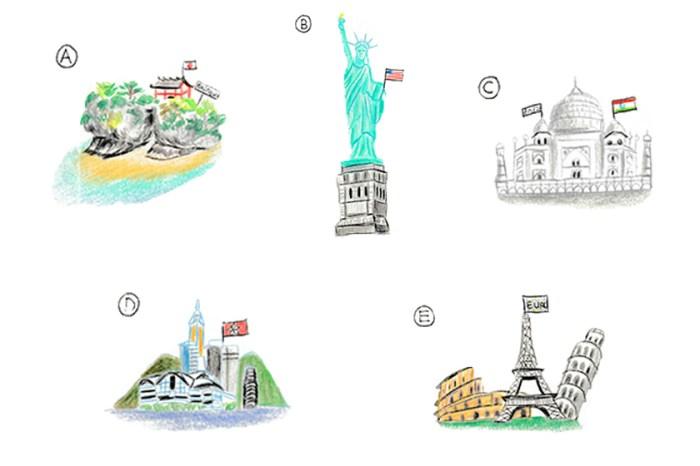 心理測驗:你會過著怎樣的生活?從旅遊目的地看出你的人生價值觀!