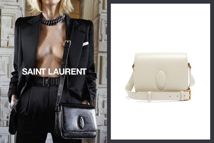 It Bag 中的滄海遺珠!這款 Saint Laurent 手袋最適合氣質型女生!