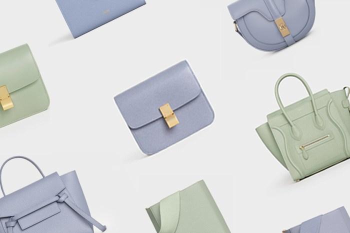 添購一枚:Celine 經典手袋換上全新粉嫩配色,淡淡和煦的春日溫柔!