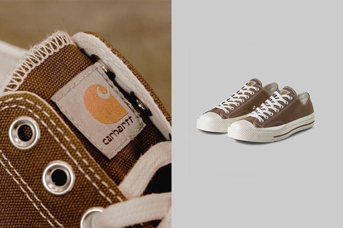 Converse x Carhartt WIP 再次合作,為春夏添入一雙溫柔奶茶色!