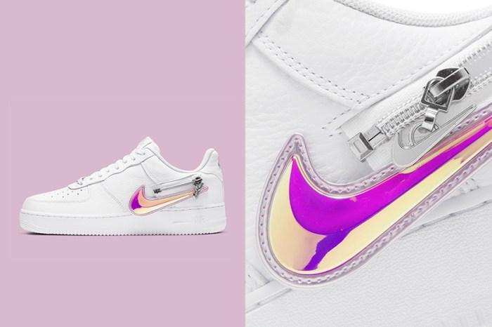 倒數開賣:Nike 將波鞋加入拉鍊設計,自由更換不同顏色的 Swoosh!