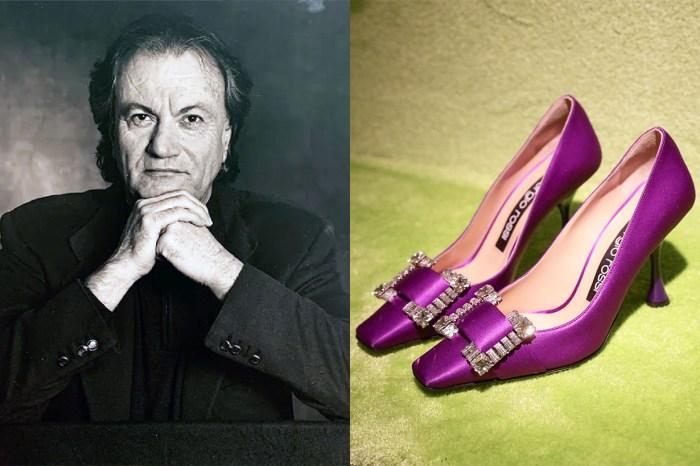 鞋王 Sergio Rossi 疑不敵 Covid-19 離世,享年 84 歲