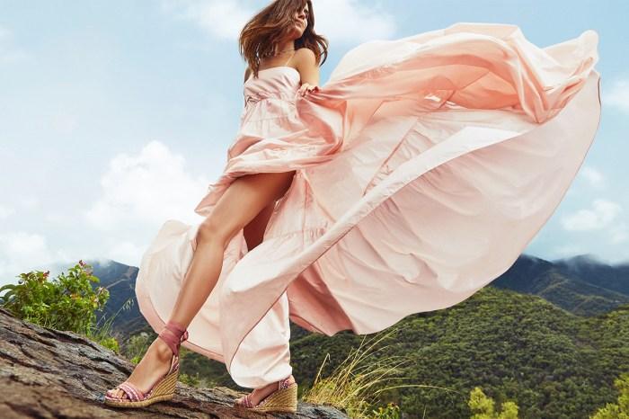夏日又怎少得一雙草編鞋?時尚博主也鍾情 Stuart Weitzman 的限定新款!