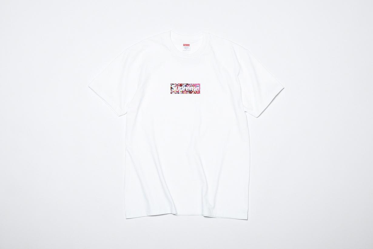 supreme Takashi Murakami covid-19 box logo tee charity 2020 relief fund