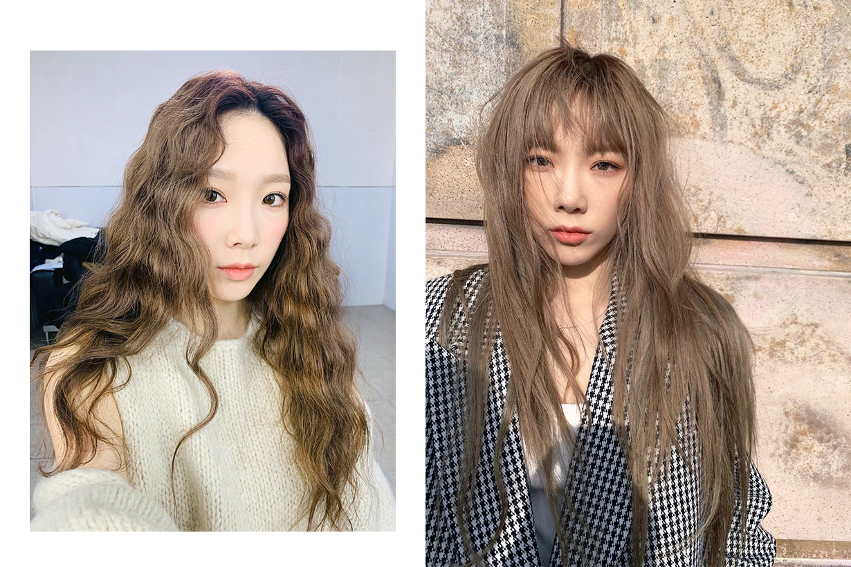 Taeyeon Kim New Hair Colour Trend 2020 Celebrities Hairstyles The World of the Married Han So Hee JTBC Korean drama k pop korean idols celebrities singers actresses