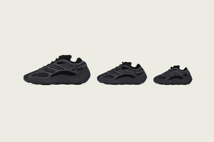 黑色的誘惑:YEEZY 推出全黑配色,易襯度 100 分!