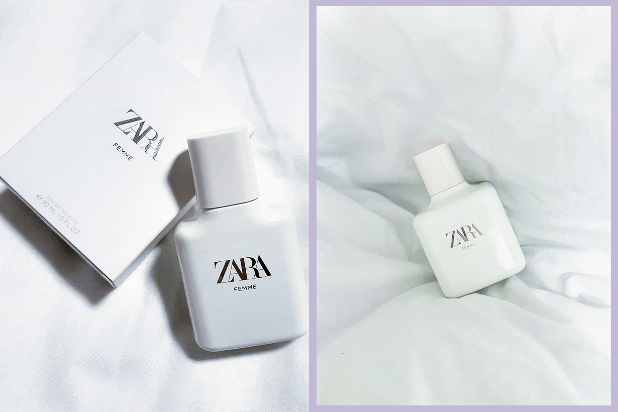 Zara Femme Perfume ZARA FEMME EDT fragrances vanilla musk peony instagram hit