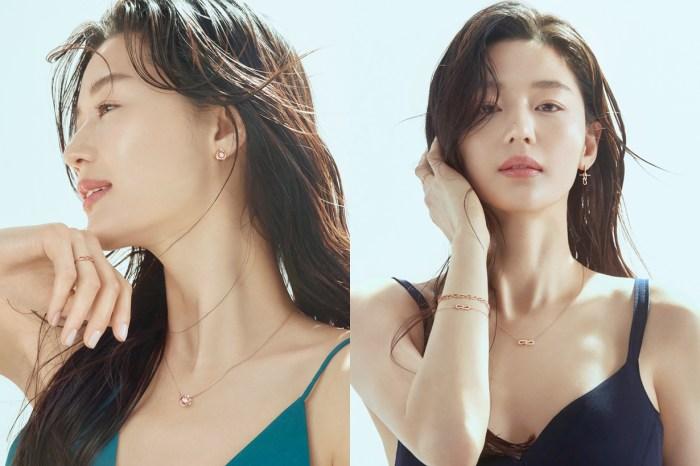 真正的帶貨女王:全智賢出鏡最新珠寶廣告,意外讓身上的夏日洋裝也引起熱搜!