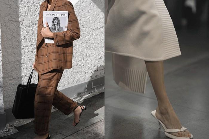 涼鞋也能穿的高級時尚,春夏不能錯過的是這幾個關鍵款式!