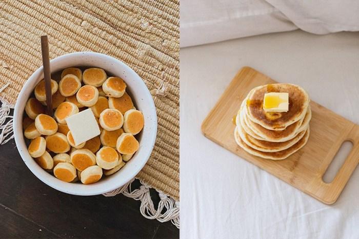 簡單在家跟著做:罪惡又療癒的「Pancake Cereal」在 IG 與 TikTok 上爆紅!