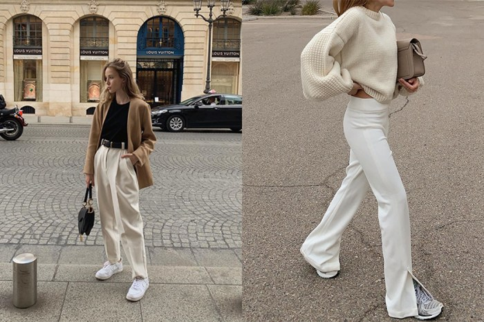 一個簡約重點彰顯氣質,為你推薦 10+ 春夏必入手的白色褲款!