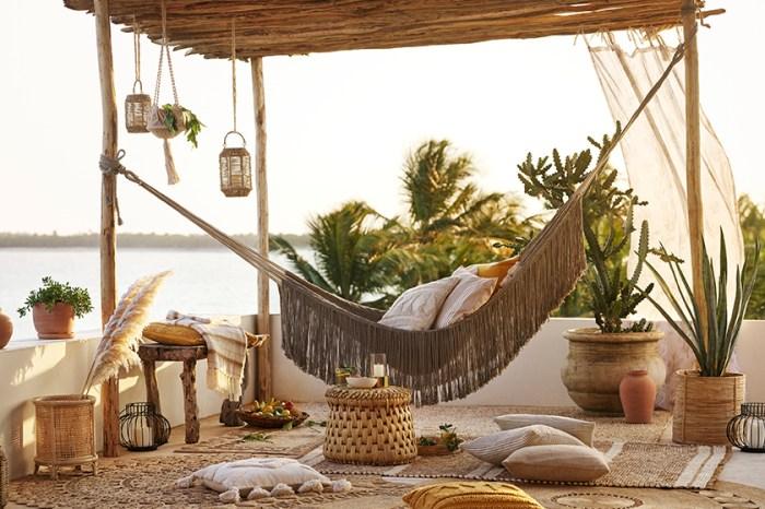 利用居家小物打造舒適的度假風情:H&M Home 以永續材料注入全新家飾系列!