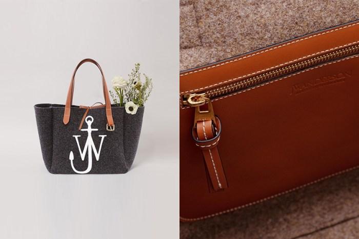 一次推出四款配色:JW Anderson 重新回歸了經典又實用的 Tote Bag!