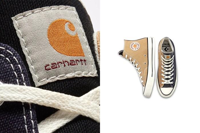 勢必再次引起搶購:Converse 與 Carhartt WIP 聯手推出「Renew」系列鞋款!