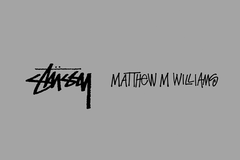 Matthew M. Williams Stussy Collaboration Instagram Post