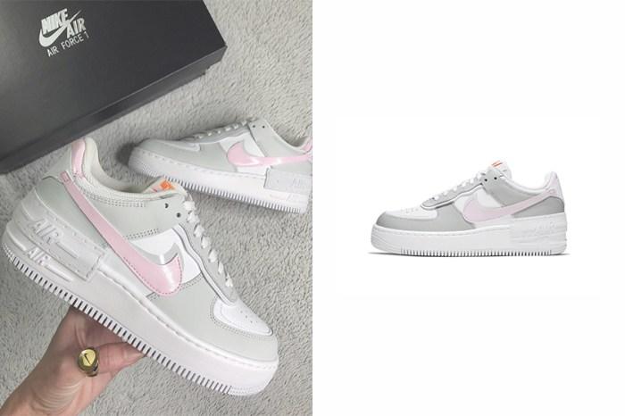 淡雅的溫柔質感:Nike 為變奏版 Air Force 1 再度推出春日新配色!