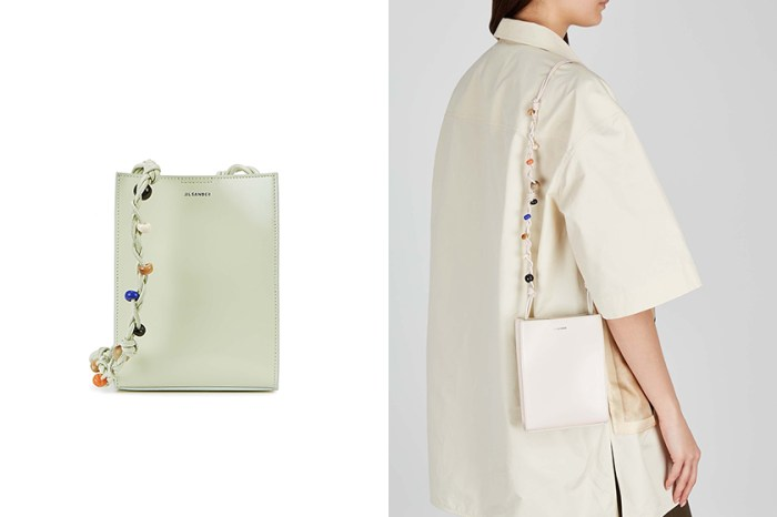 極簡中的質感細節:這款受到日本女生熱愛的 Jil Sander 手袋讓人想包色!