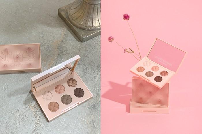 一抹春日的淡雅:女生們都在討論 Estee Lauder 限量推出的「玫瑰奶霜」眼影盤!