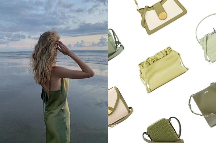 今夏不能錯過的關鍵流行色:為穿搭帶來清新感的 Celery Green 手袋!
