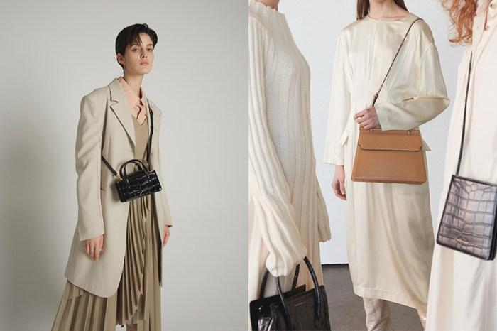 精緻優雅的古典美:質感女生不能錯過這個韓國小眾品牌的手袋!