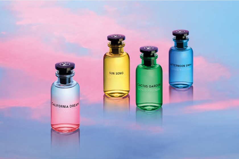Louis Vuitton New Perfume California Dream