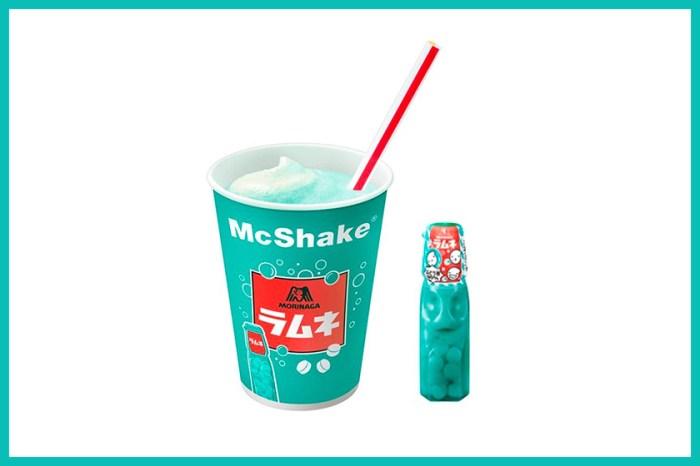 又要引起一波搶購:日本 McDonald's 推出「彈珠汽水」口味冰涼奶昔!