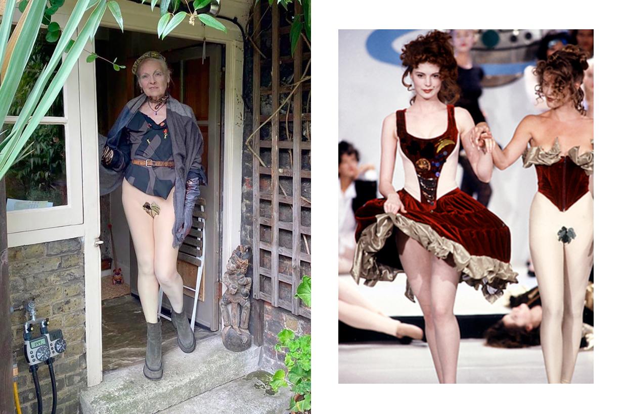 vivienne westwood stay home outfit throwback 1989 voyage cyrhera