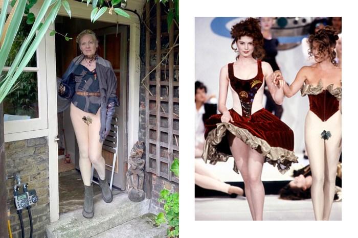 年齡從不該限制衣著:不愧是西太后,79 歲的 Vivienne Westwood 居家打扮更大膽!